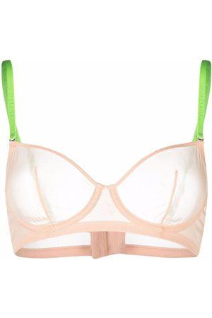 MAISON CLOSE Mujer Brasieres - Mesh underwired bra
