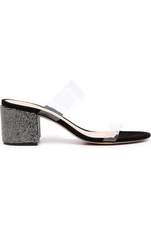 Schutz Victorie 60mm crystal-embellished sandals