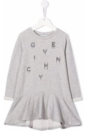 Givenchy Niña Estampados - Vestido con logo estampado