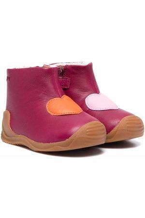 Camper Niña Botas y Botines - Botas de lluvia con motivo de corazón