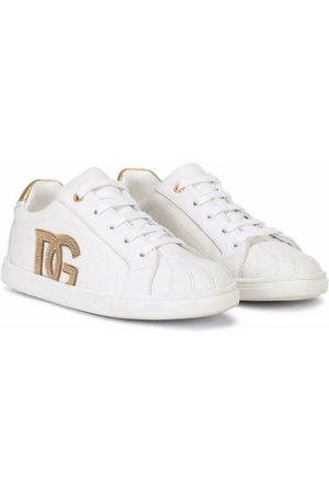 Dolce & Gabbana Niña Tenis - Tenis con logo DG