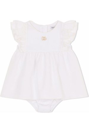 Dolce & Gabbana Vestidos - Vestido con logo bordado