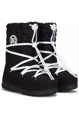 Dolce & Gabbana Botas para nieve con agujetas