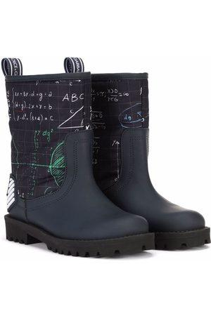 Dolce & Gabbana Niño Botines - Botines con motivo algebra