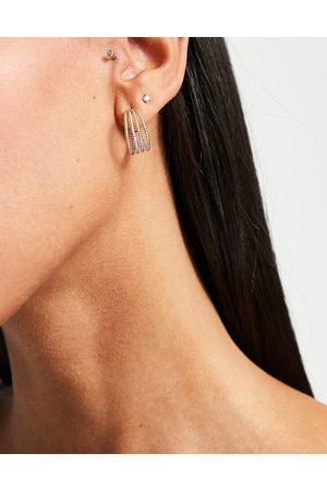 Miss Selfridge Ear cuff earring in silver