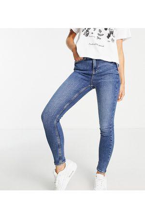 New Look Lift & shape skinny jean in mid blue