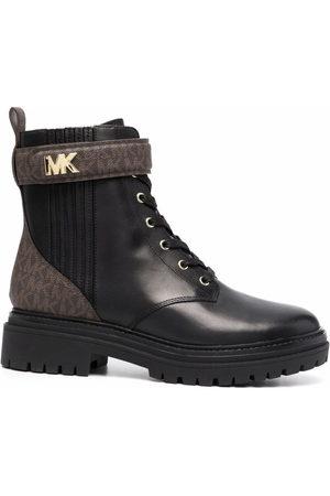 Michael Kors Mujer Botas y Botines - Monogram-print combat boots