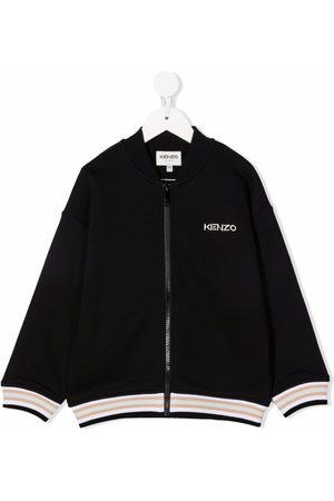Kenzo Niño Bomber - Logo embroidered bomber jacket