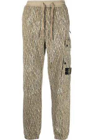 Stone Island Hombre Cargo - Rain Camo cargo trousers