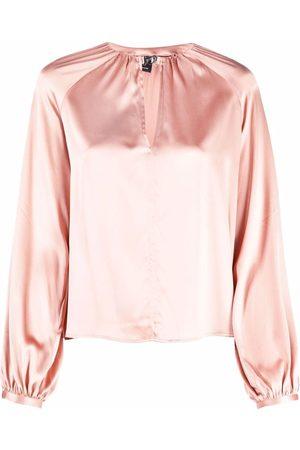 Pinko Mujer Blusas - Blusa de manga balloon