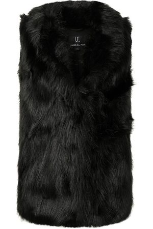 Unreal Fur Mujer Chalecos - Chaleco Rose