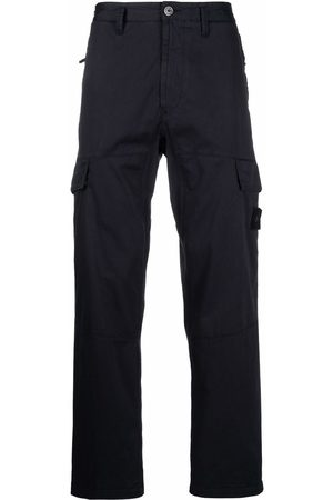 Stone Island Hombre Cargo - Compass patch cargo trousers