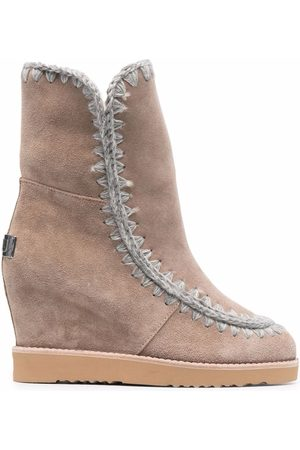 Mou Wedge ankle boots