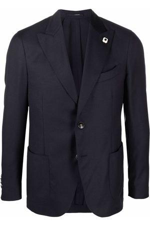 LARDINI Hombre Sacos - Blazer ajustado con botones