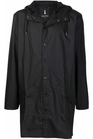 Rains Abrigos - Press-stud hooded raincoat