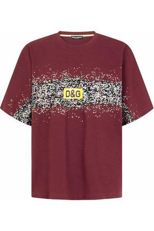 Dolce & Gabbana Hombre Playeras - Playera con estampado gráfico