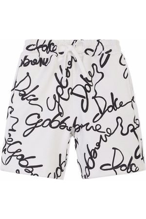 Dolce & Gabbana Shorts con logo estampado