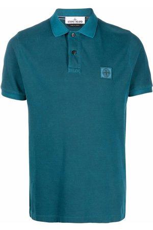 Stone Island Compass patch polo shirt