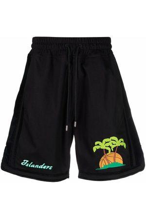 JUST DON Island print shorts
