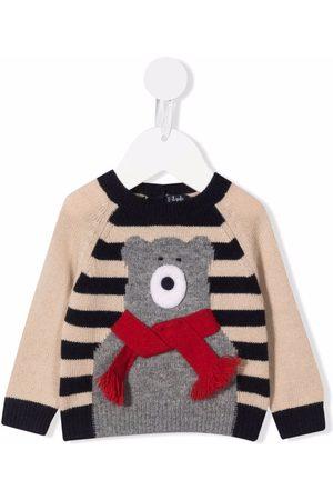 Il gufo Tops - Bear detail jumper
