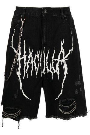 HACULLA Shorts de mezclilla Demon