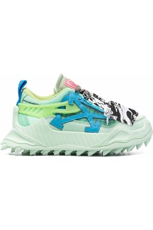 OFF-WHITE Mujer Tenis - ODSY 1000 LIGHT GREEN BLUE