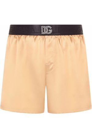Dolce & Gabbana Hombre Calcetines - Calzones con logo estampado