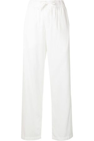 Tekla Mujer Pijamas - Pantalones de pijama con cordones en la pretina