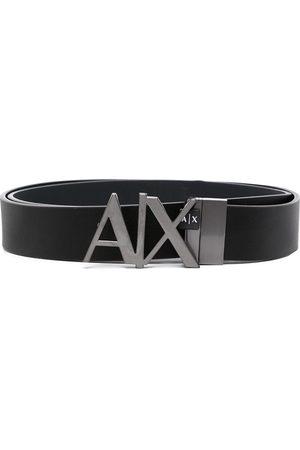 Armani Hombre Cinturones - Cinturón con placa del logo
