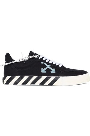 OFF-WHITE Hombre Tenis - OFF WHITE Low vulcanized eco canvas BLK