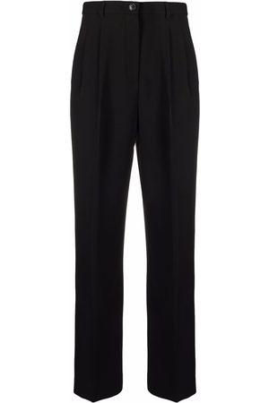 Tory Burch Mujer De vestir - Pleat-detail four-pocket tailored trousers