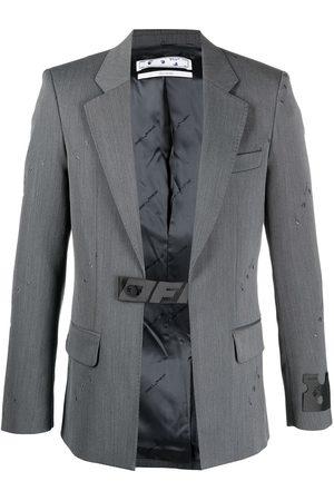 OFF-WHITE Hombre Sacos - Blazer con cinturón Industrial