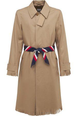 Burberry Cotton Trenchcoat W/ Tassles