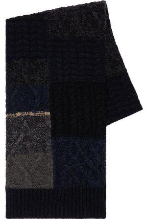 Dolce & Gabbana Hombre Bufandas - Bufanda Patchwork De Mezcla De Lana Virgen