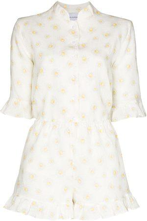 Sleeper Pijama con estampado de margaritas