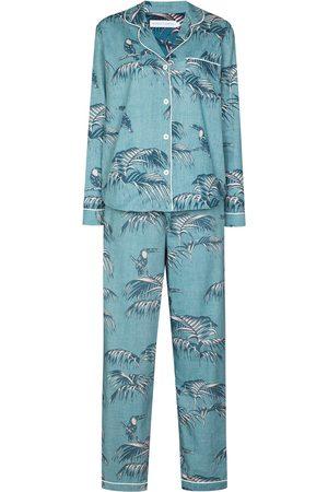 Desmond & Dempsey Mujer Conjuntos de lencería - Pijama Bocas