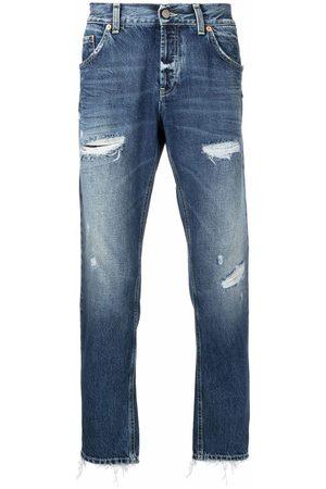 Dondup Hombre Rectos - Jeans rectos con efecto envejecido pre-owned