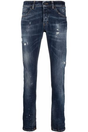 Dondup Distressed straight-leg jeans