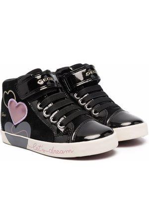 Geox Niña Tenis - Heart high-top sneakers