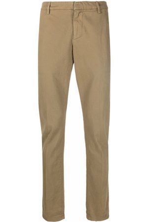 Dondup Hombre Chinos - Jetted-pocket cotton chinos