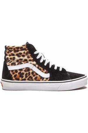 Vans Hombre Tenis - Sk8 leopard high-top sneakers