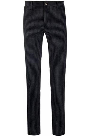 Incotex Hombre Slim y skinny - Checked slim-cut trousers