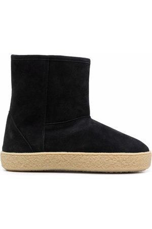 Isabel Marant Mujer Botines - Shearling-lined ankle boots