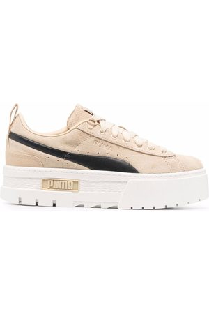 PUMA Mayze Infuse chunky suede sneakers
