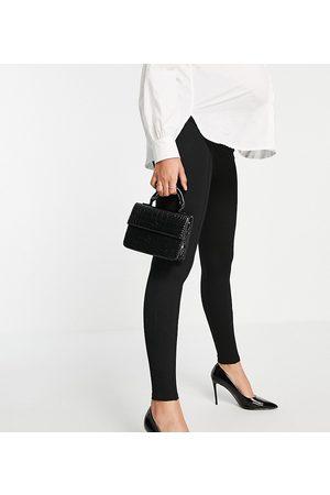 River Island Mujer Leggings y treggings - High waisted leggings in black