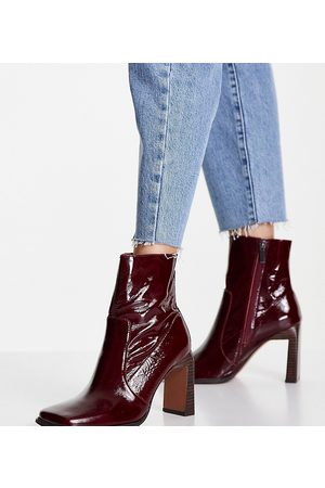 ASOS Wide Fit Embrace leather high