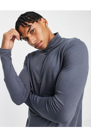 New Look Hombre Playeras - Long sleeve roll neck t
