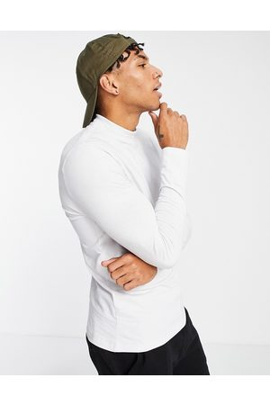 New Look Hombre Playeras - Long sleeve turtle neck t