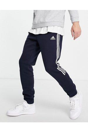 adidas Adidas Training joggers with three stripe in navy