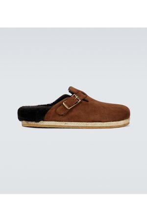 YUKETEN Bostonian shearling loafers